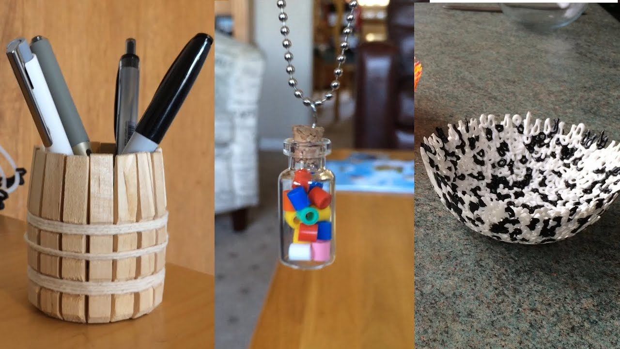 3 ridiculously simple d i y projects youtube for Awesome crafts to do at home