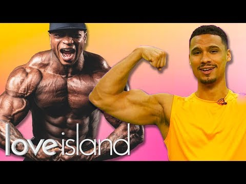 Training Arms with Rykard from Love Island & Ibiza Weekender!