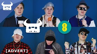 THE EVOLUTION OF ONLINE VIDEO... IN 6 RAP STYLES! | Dan Bull