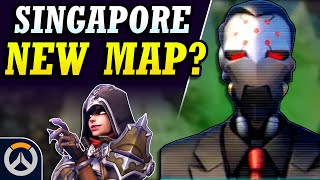 SINGAPORE NEW MAP TEASED?, Demon Hunter Skin, & New Series! (Overwatch News)