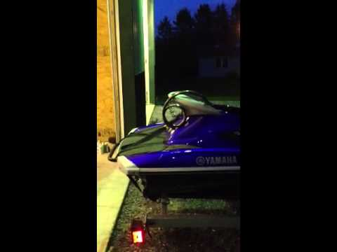 2011 Yamaha VXR with 2012 trailer for sale