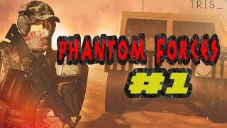 EW, A SPIDER!?! | Phantom Forces #1 | ROBLOX