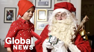 """Finland's santa claus has a message of optimism and hope to children around the world. he's reassuring them that """"christmas will not be cancelled"""" this year ..."""