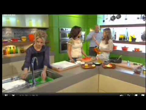 Being Human stars: Sinead Keenan and Lenora Crichlow on Something for the Weekend; 270311 Part 2