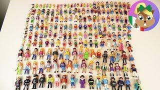 ¡NUESTRA COLECCIÓN DE FIGURAS DE PLAYMOBIL! Más de 250 figuras ¡Les mostramos todo! thumbnail