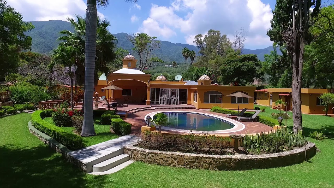 Casa Cupula Aerial Video Lakefront House In Ajijic Jalisco