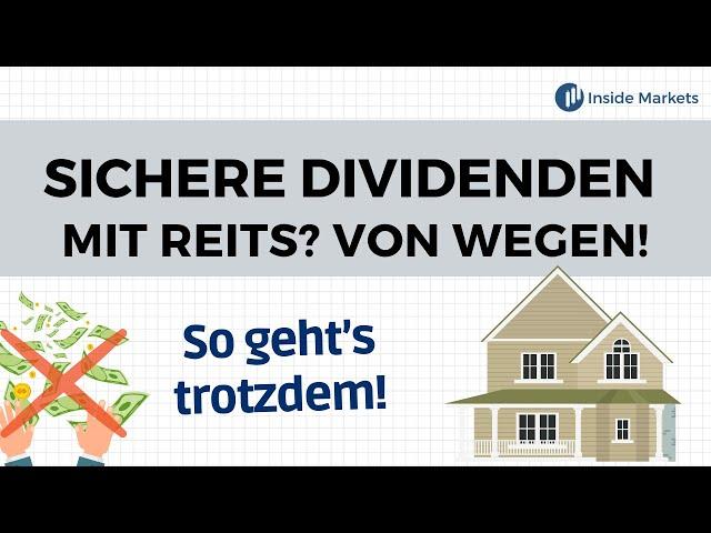 Warum REITs kein gutes Investment sind & wie du trotzdem eine Outperformance erzielen kannst!
