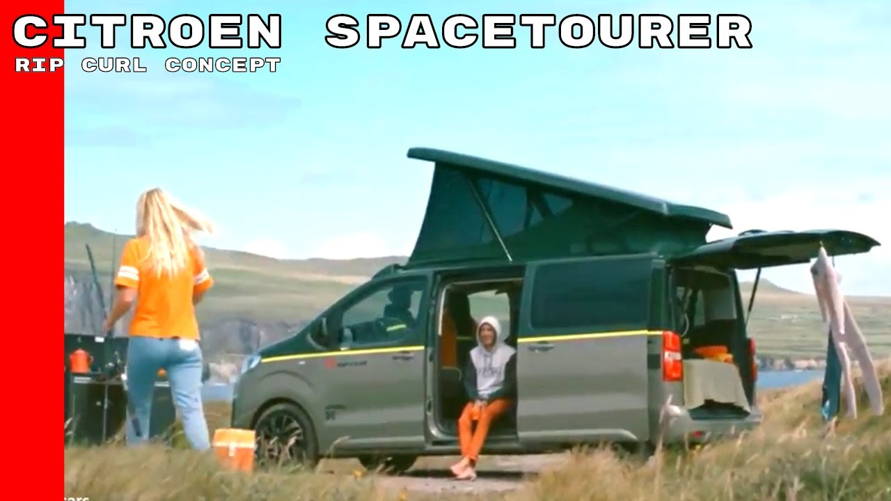citroen spacetourer rip curl concept youtube. Black Bedroom Furniture Sets. Home Design Ideas