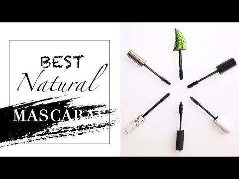 BEST Natural Mascaras + SWATCHES! | Organic & Cruelty Free thumbnail