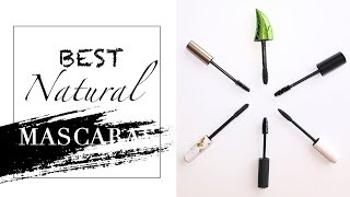 BEST Natural Mascaras + SWATCHES! | Organic & Cruelty Free
