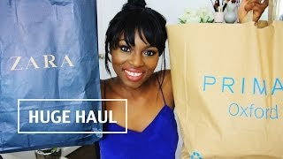 HUGE SPRING CLOTHING HAUL! PRIMARK, TOPSHOP,RIVER ISLAND, Thumbnail