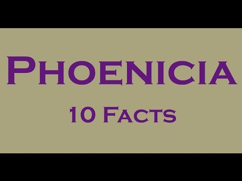 10 Interesting Facts about Phoenicians