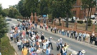 Wymarsz pielgrzymki z Ostrowi Mazowieckiej do Częstochowy