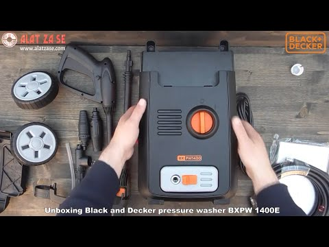 Unboxing Black And Decker Pressure Washer BXPW 1400E