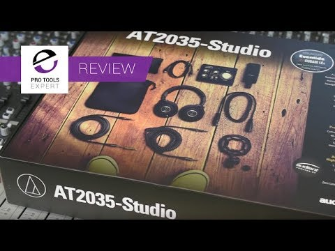 Review - Audio Technica  AT2035 Studio Featuring the Audient iD4