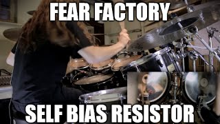 """Drum play-through of """"Self Bias Resistor"""" by Fear Factory. This son..."""