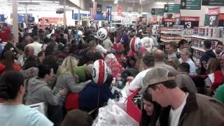 Black Friday 2012 At Walmart In Douglas Georgia