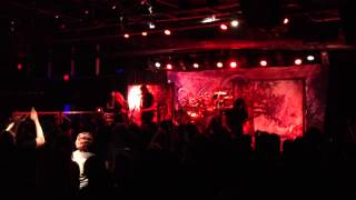 "Wintersun, ""The Way of the Fire"" (new song live) @ Baltimore Soundstage, 8/6/13"