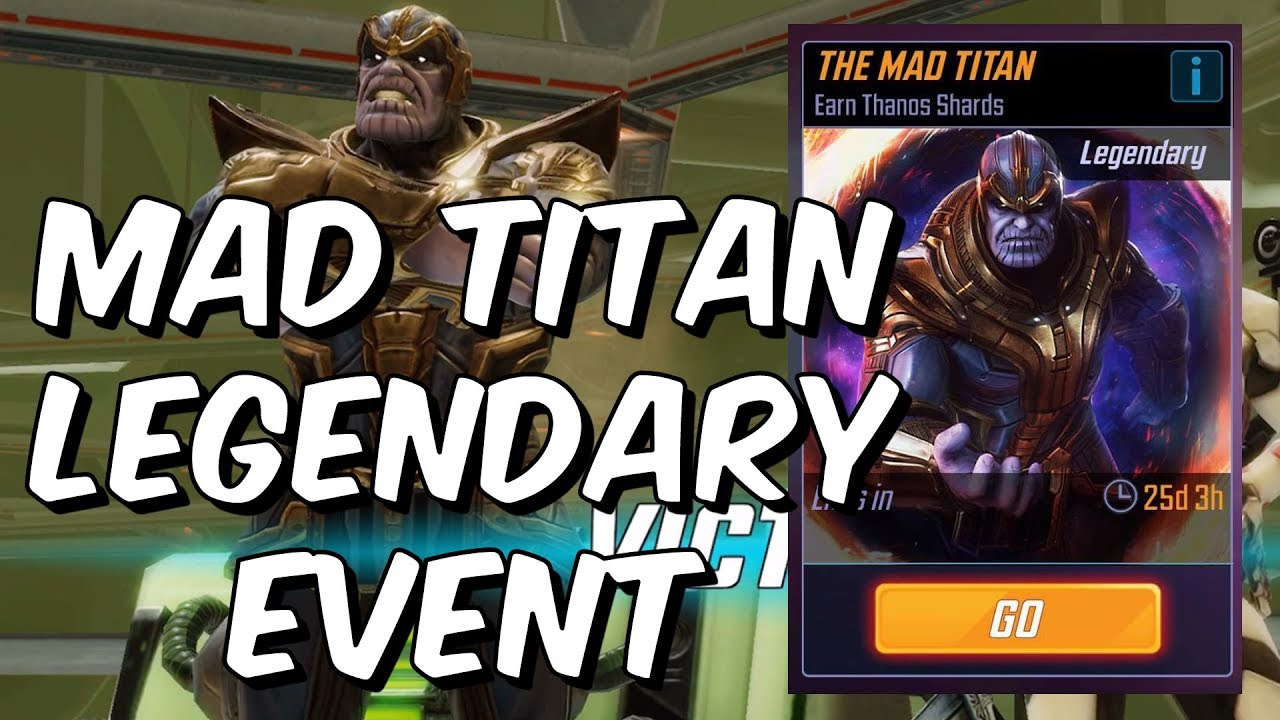 Mad Titan Legendary Event - How To Get Thanos - Marvel Strike Force