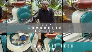 1957 Lambretta LD 150 | Hyderabad Vintage Bikes Restoration #CTR #Lambretta #Independence Day Part 3