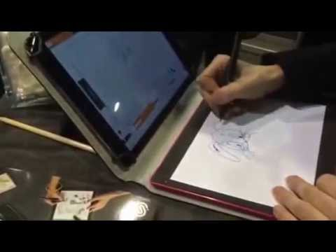 The iSketchnote platform gives digital life to your paper creations