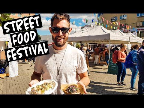 STREET FOOD IN BRATISLAVA | At Street Food Park!