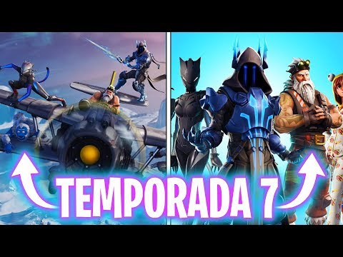 *NUEVA TEMPORADA 7* TODA LA INFO! - Fortnite Battle Royale - Luzu