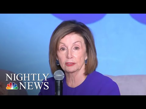 House Democrats Unveil Two Articles Of Impeachment Against Trump  NBC Nightly News
