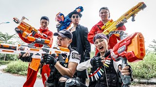 LTT Game Nerf War : Squad Warriors SEAL X Nerf Guns Fight Crime Braum Crazy Underworld