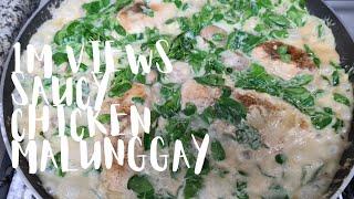 try niyo, masarap Saucy chicken malunggay Mura at madaling lutuin