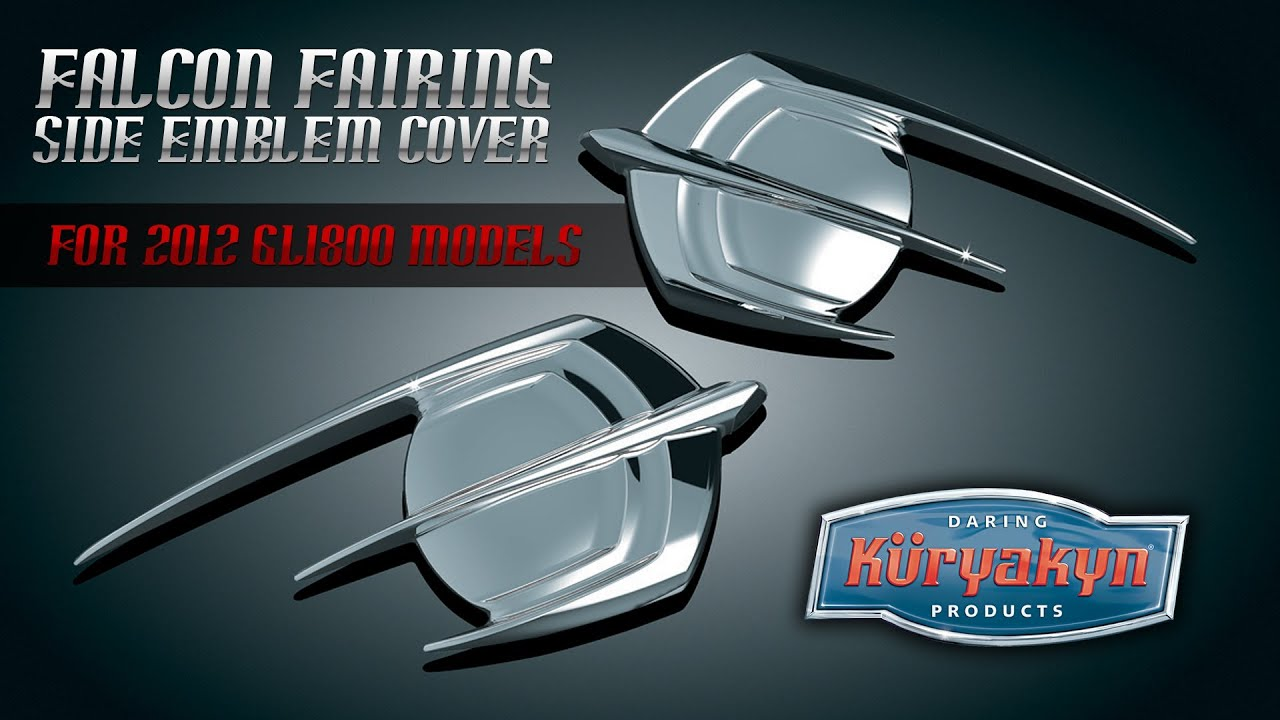 Falcon Fairing Side Gold Wing Emblem Cover | Honda ...