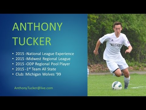 Anthony Tucker College Soccer Recruiting Video -Class of 2016