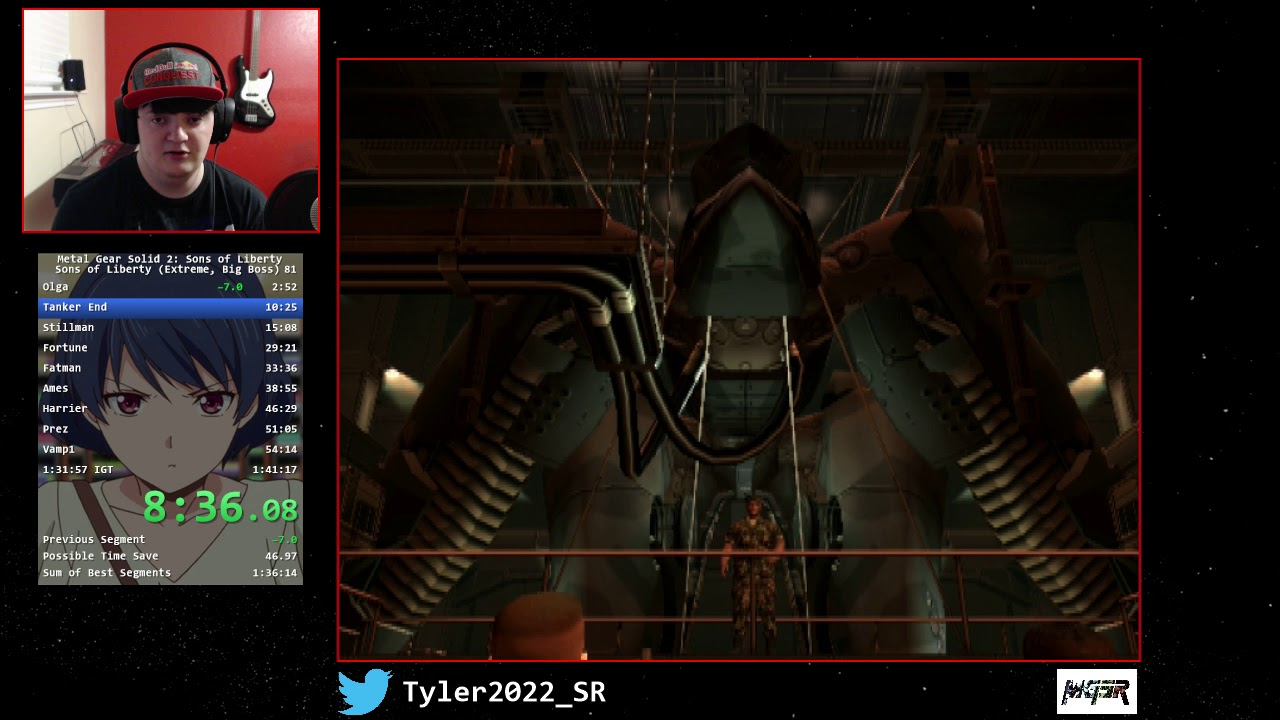 Wr Ps2 Metal Gear Solid 2 Extreme In 1 26 11 Big Boss Rank