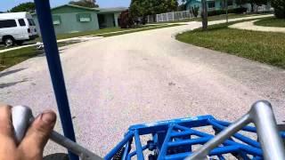 My Mini Buggy Gokart Predator 301cc Modified. Test Drive, Part 2 88895875