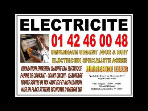 ELECTRICIEN PARIS 8eme - DEPANNAGE ELECTRICITE 75008 PARIS ARTISAN QUALIFIE 45 ANS DE METIER