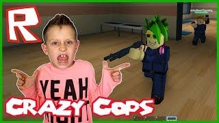 crazy poliziotti Roblox Prison Life