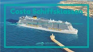 Costa Kreuzfahrten: Kreuzfahrtschiffe und Schiffsklassen