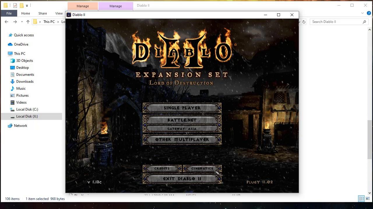 Diablo 2 Inventory With PlugY - YouTube