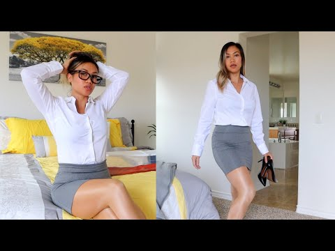 SECRETARY LOOK PT.2 | HOW TO STYLE WITH HOSIERY
