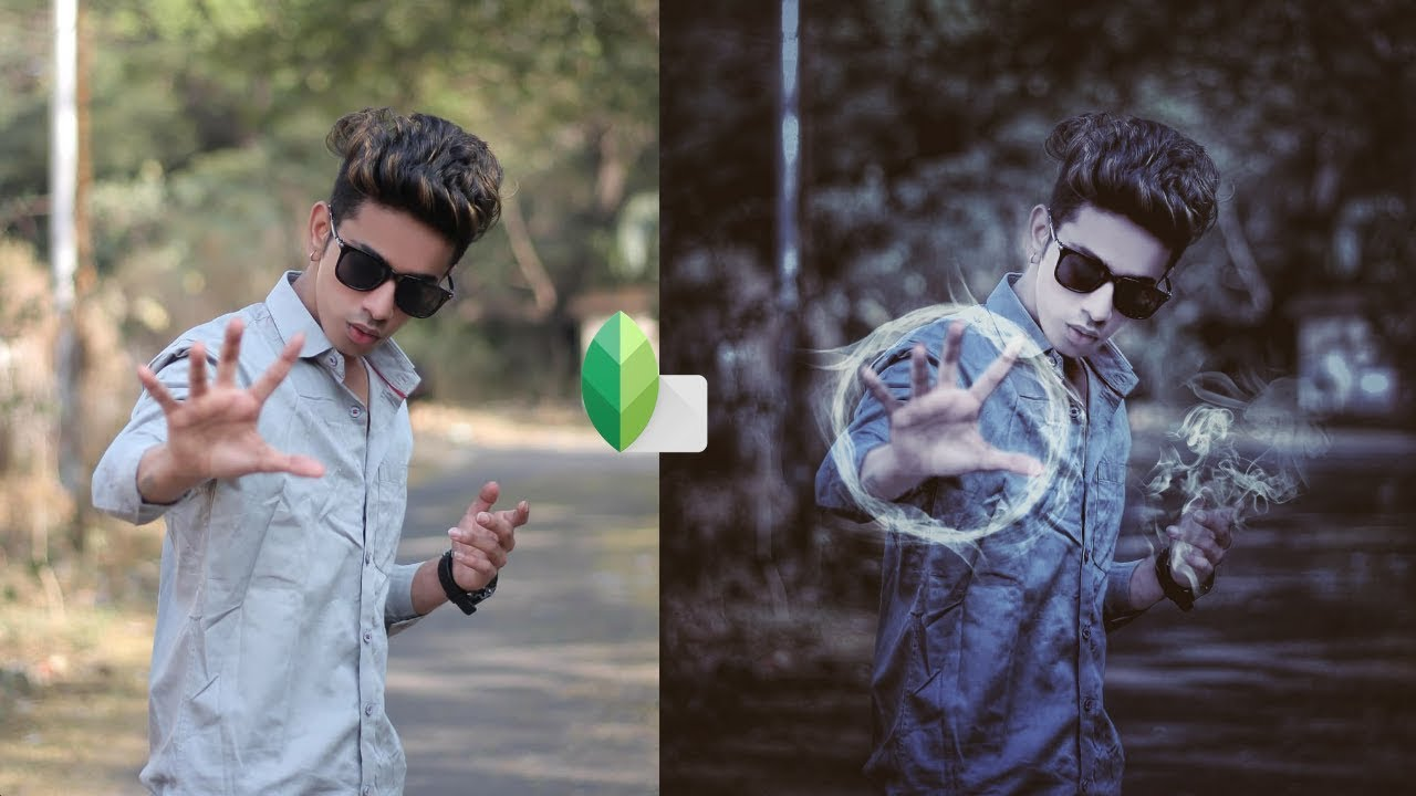 Snapseed Viral Smoke Effect Editing Tutorial | New ...