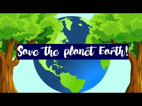 Save Energy, Save Water to Save our planet