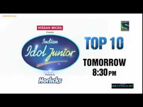 Indian Idol Junior, Promo of Disco Theme