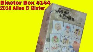 Blaster Box (2018 Allen/Ginter)