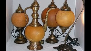 Blue Whale Arts, European Gourd Lamp Assembly and Bonus section