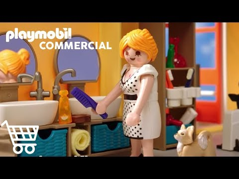 Playmobil Bienvenue A La Maison Moderne Youtube