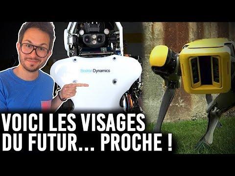VOICI LES VISAGES DU FUTUR PROCHE ! ATLAS, l'hallucinant robot...