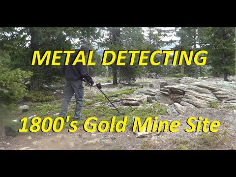 Metal Detecting Old Colorado Gold Mining Sites!