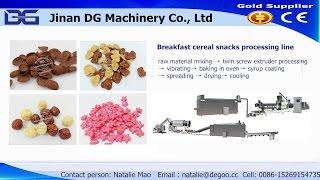 Jinan DG-- Fruit loops making machine cereal grain rings making machine