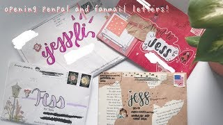 opening kpop penpal and fanmail letters!