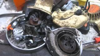 Stihl 4Mix Cam Gear Timing - Ржачные видео приколы